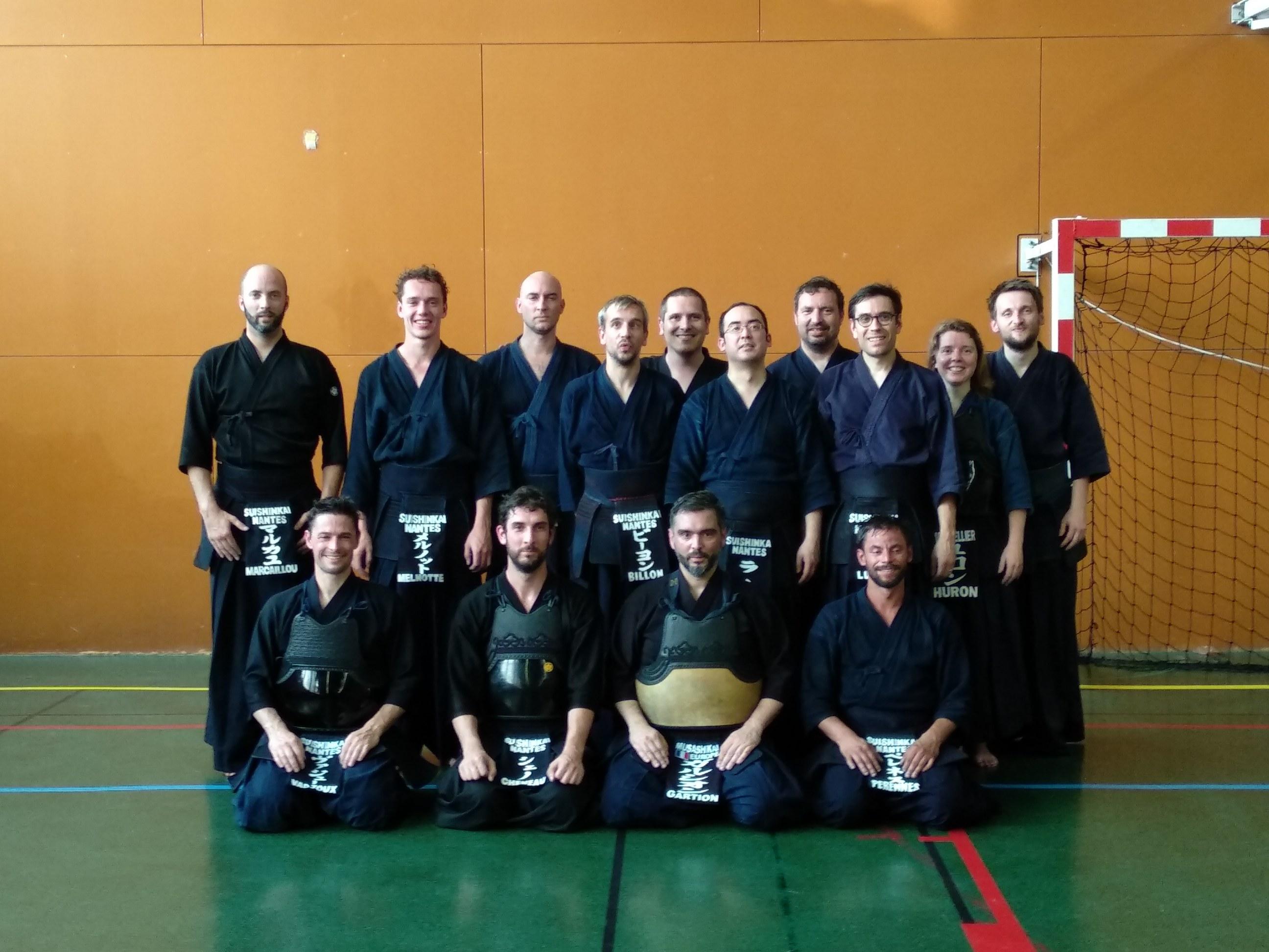 Kendo : Dernier cours et initiation Nito
