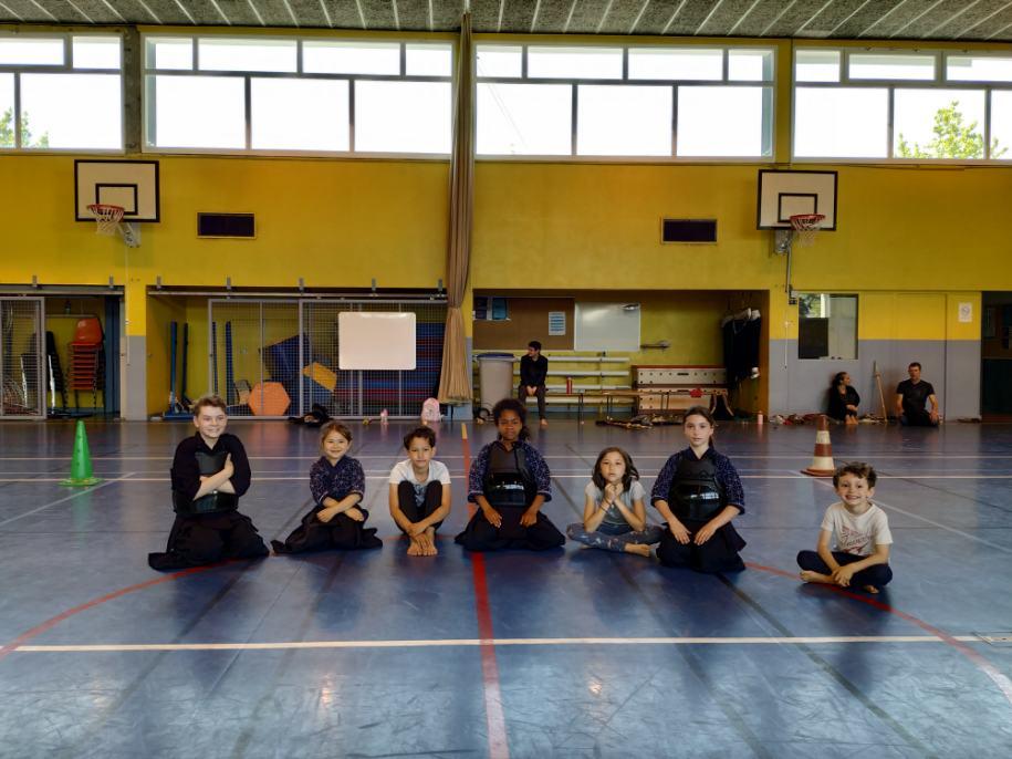 Kendo : Passage de grade enfant